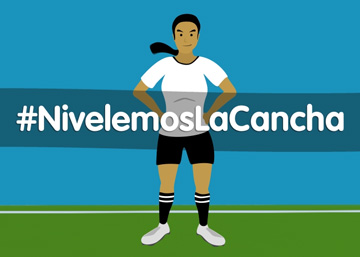 #Nivelemos la Cancha