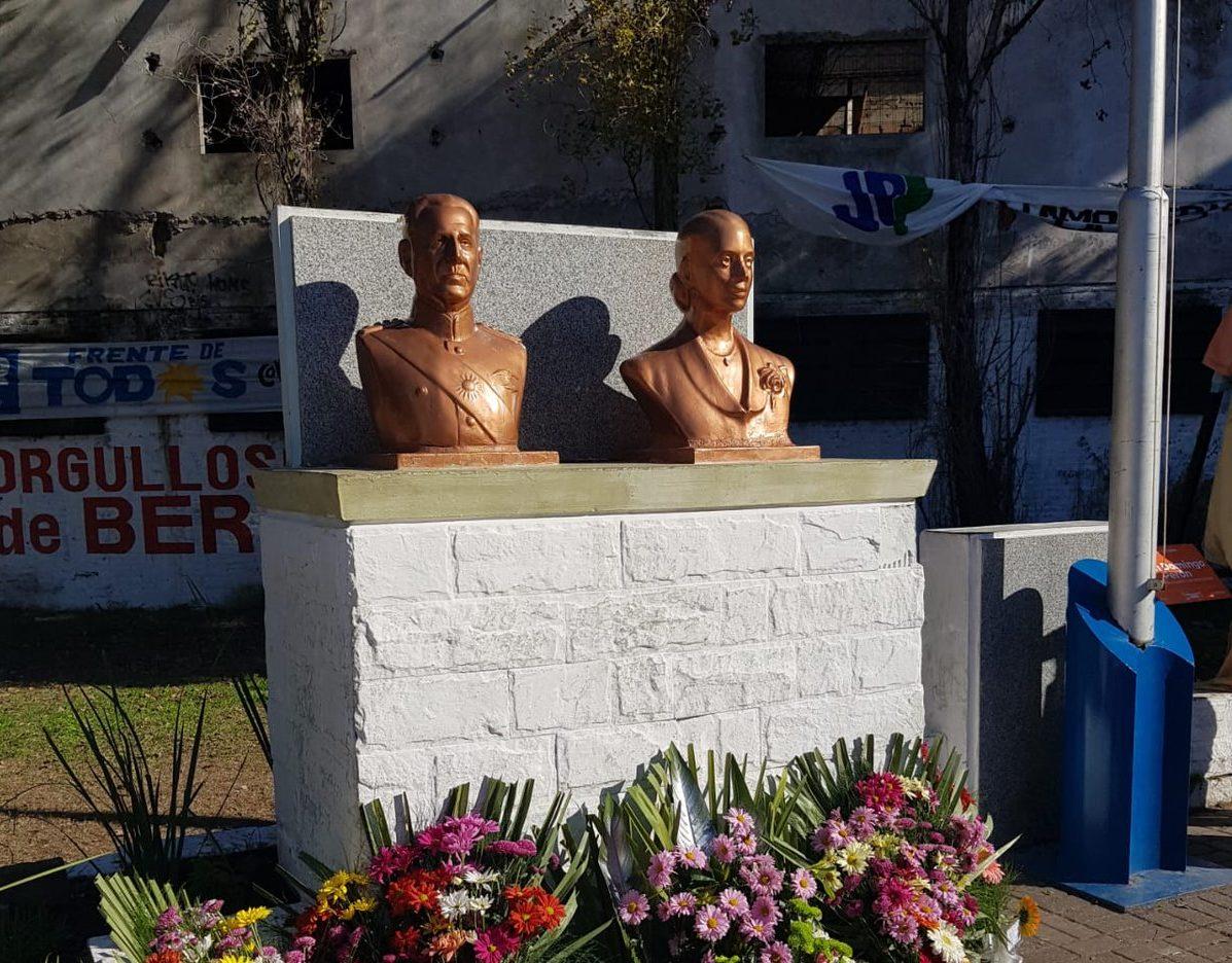 busto Perón