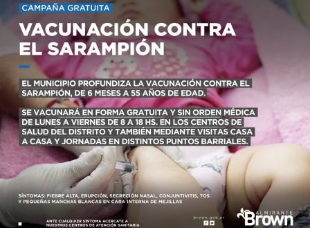 Vacunas Sarampion Brown