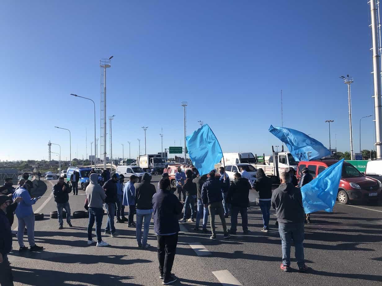 protesta de colectivo